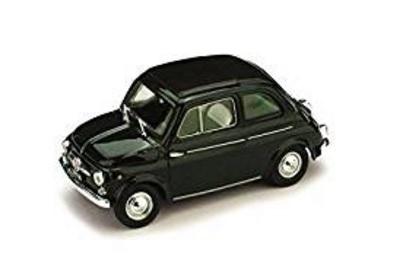 Fiat 500 verde scuro modellino