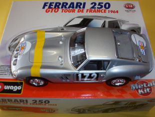 Ferrari 250 gto modellismo