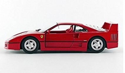 Ferrari f40 modellino rosso