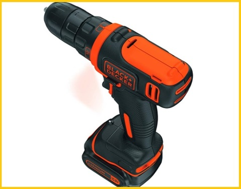 Trapano avvitatore batteria black and decker