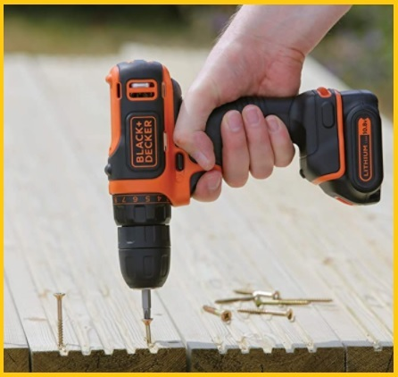Black and decker avvitatore batteria