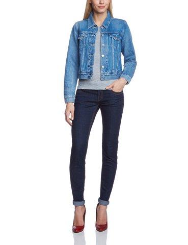 Giacca in jeans da donna levi's manica lunga