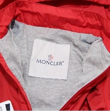 Giubbino Moncler Per Bambini Leggero Rosso