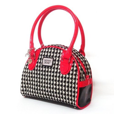 Mini borsa denny rose con manici rosso chiaro