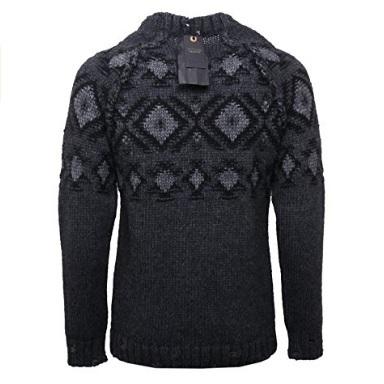 Maglione in cotone da uomo classico imperial