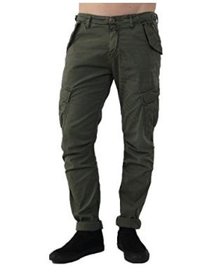 Pantalone alla moda verde scuro della marca imperial