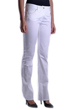 Pantaloni classic bianchi della roberto cavalli