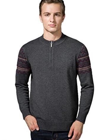 Maglione da uomo in cashmere classico