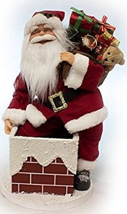 Immagini Che Si Muovono Di Natale.Babbo Natale Che Si Muove E Musica Classico Grandi Sconti