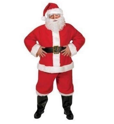 Babbo Natale Costume Completo Outfit Completo Per Adulti