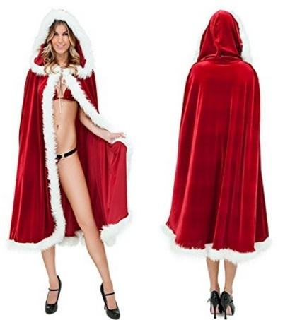 Mantello e costume natalizio