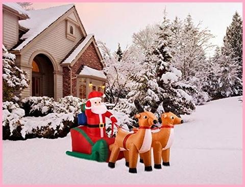 Babbo Natale Grande Da Interno