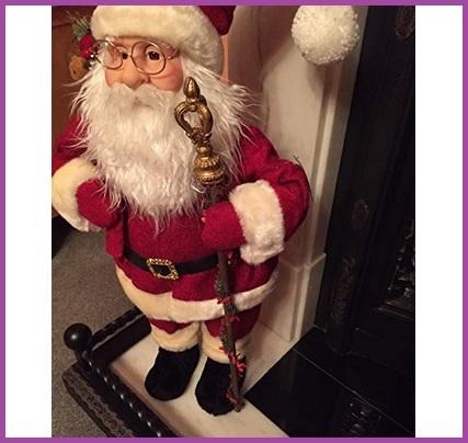 Statua Grande Babbo Natale