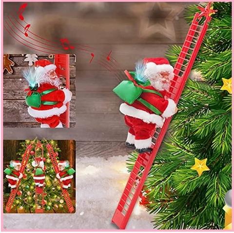 Babbo Natale Scala Elettrico