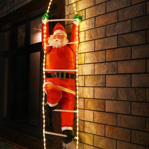 Babbo Natale Scala Esterno