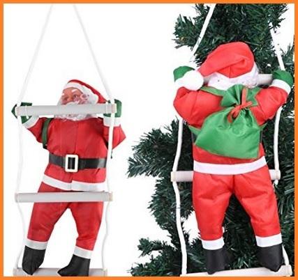 Babbo Natale Arrampicatore