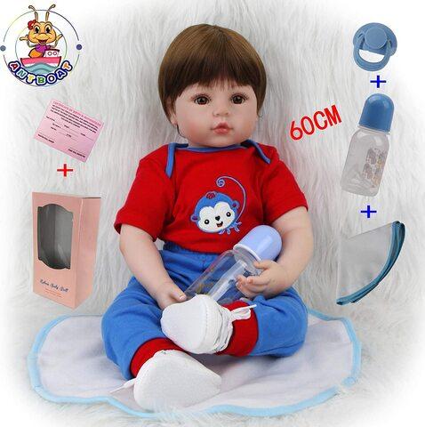 Bambole reborn maschio 60 cm