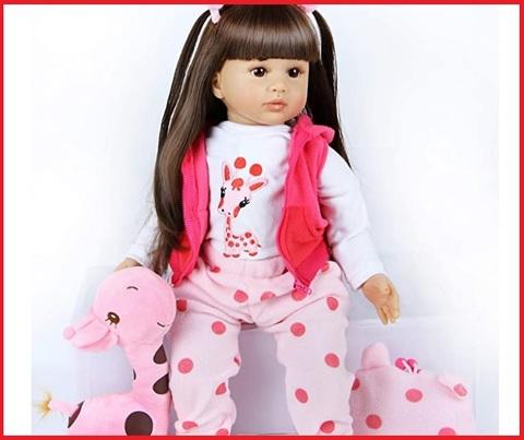 Bambola reborn 60 cm femmina