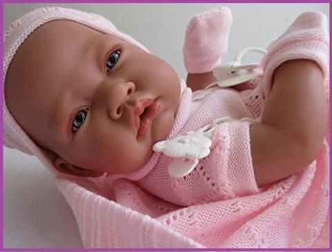 Bambola in vinile reborn