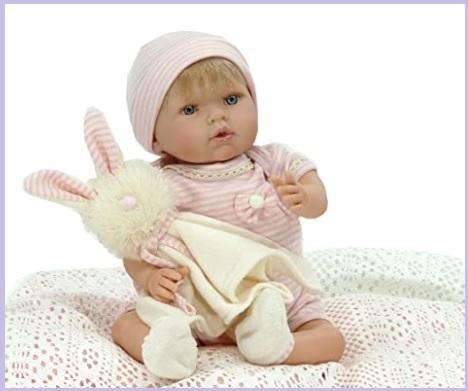 Bambola piccola reborn morbida