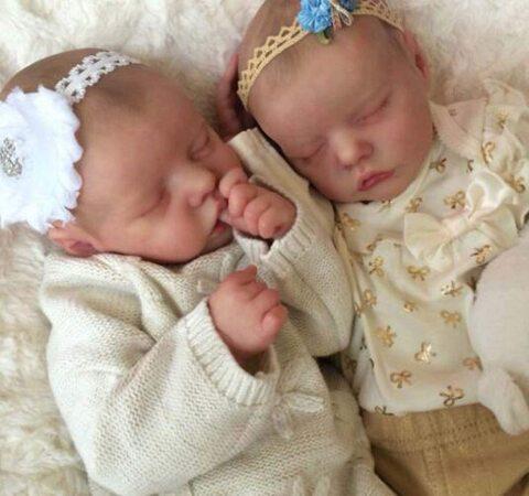 Bambole reborn gemelli maschio e femmina