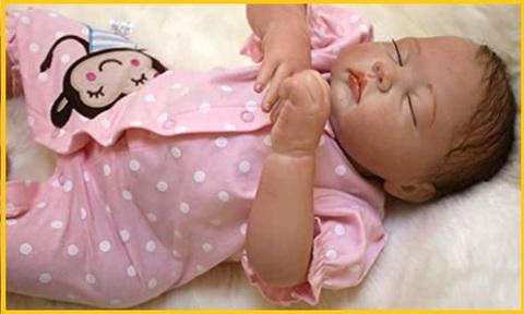 Bambola reborn vinile femmine
