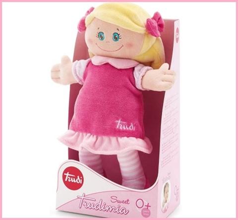 Bambolina Di Pezza Per Neonata