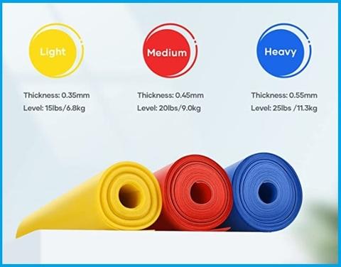 Banda media elastica fitness