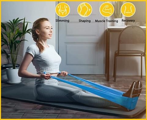 Banda Elastica Pilates E Fitness