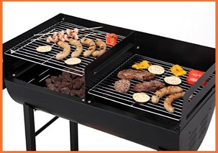 Barbecue da giardino a carbonella