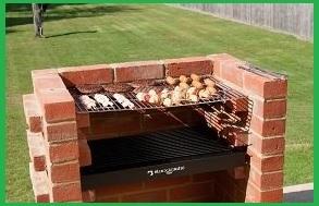 Barbecue e forno in muratura