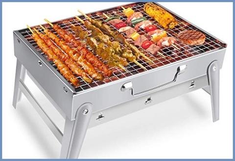 Barbecue Portatile Inox