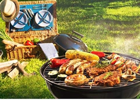 Barbecue portatile elettrico