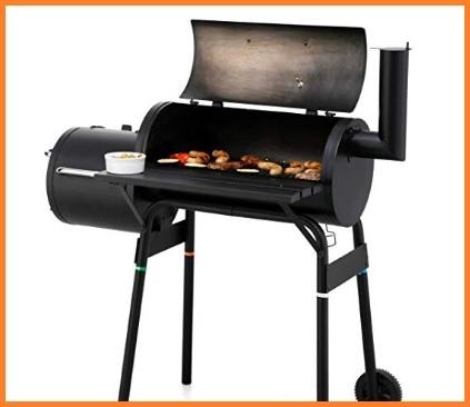 Barbecue affumicatore americano