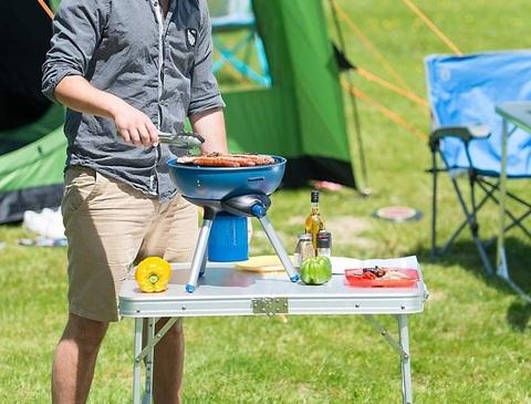 Barbecue portatile fornello