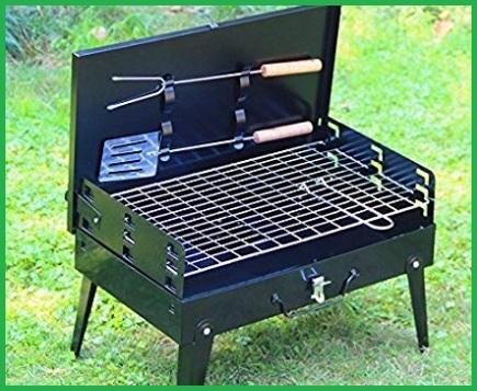 Barbecue portatile acciaio