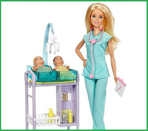 Barbie ambulanza bambola