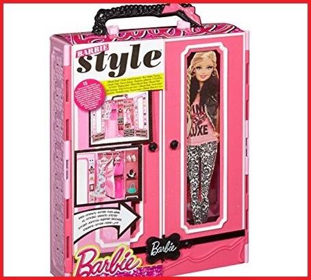 Barbie armadio da sogno colorato