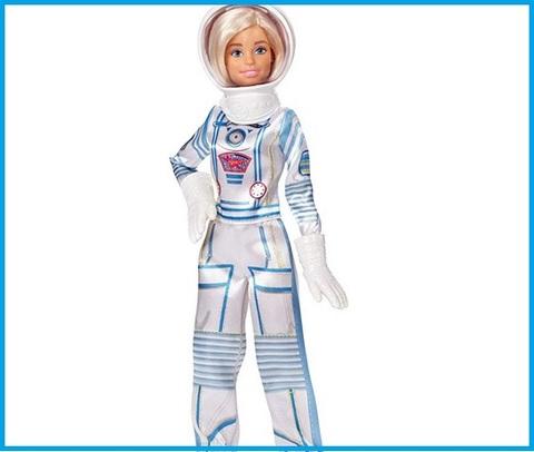 Barbie astronauta con spazio
