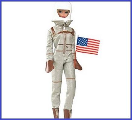 Barbie astronauta cristoforetti