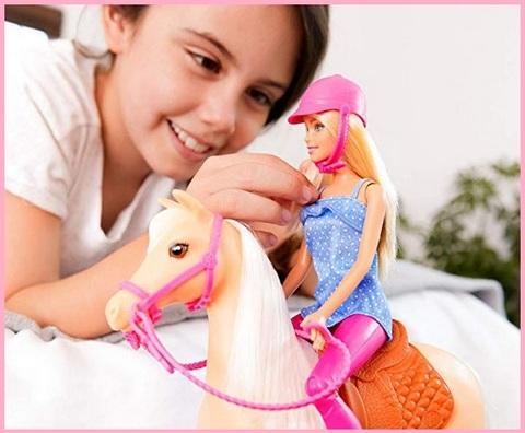 Bambola Barbie Cavallo Dei Sogni