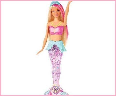 Barbie sirena con luci