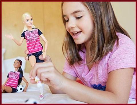 Barbie snodata capelli biondi