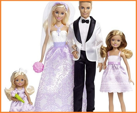 Barbie Sposa E Ken Sposo