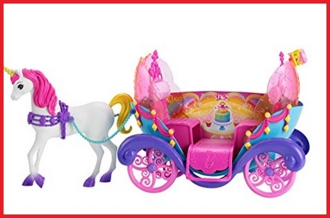 Barbie unicorno carrozza