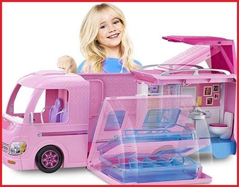 Barbie Camper Campeggio