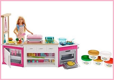 Cucina barbie bambina