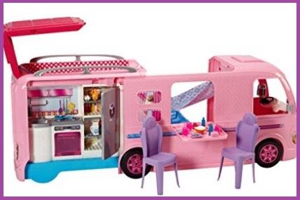 Camper dei sogni barbie con accessori
