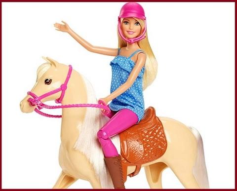 Barbie cavallo dei sogni bambola