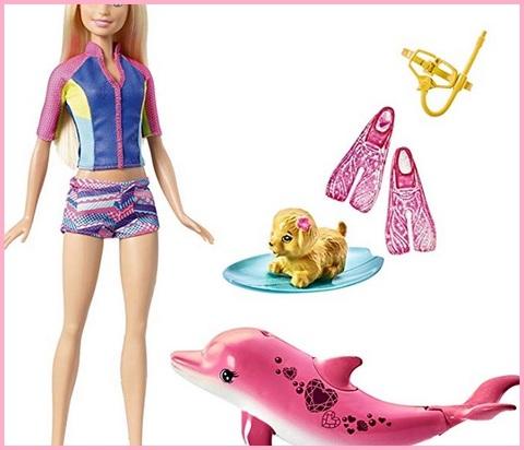 Barbie magia del delfino sirena
